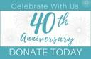 40th Anniv Donate