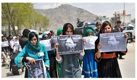 AfghanWomenDemonstrate