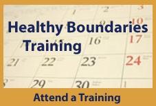 Healthy Boundaries Training