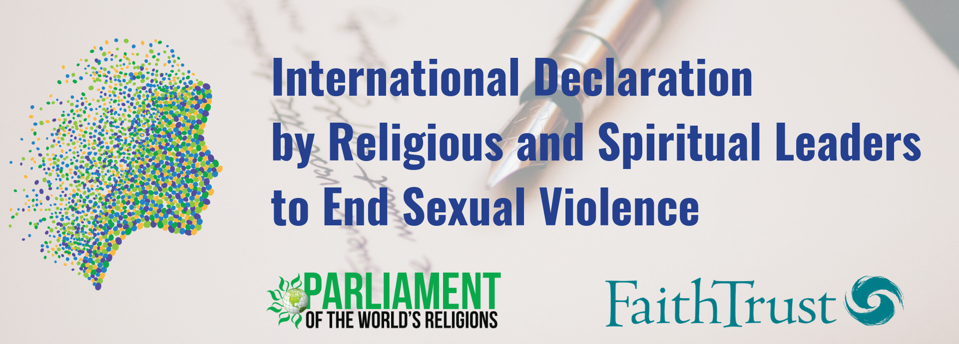 International Declaration to End Sexual Violence. Sign on!
