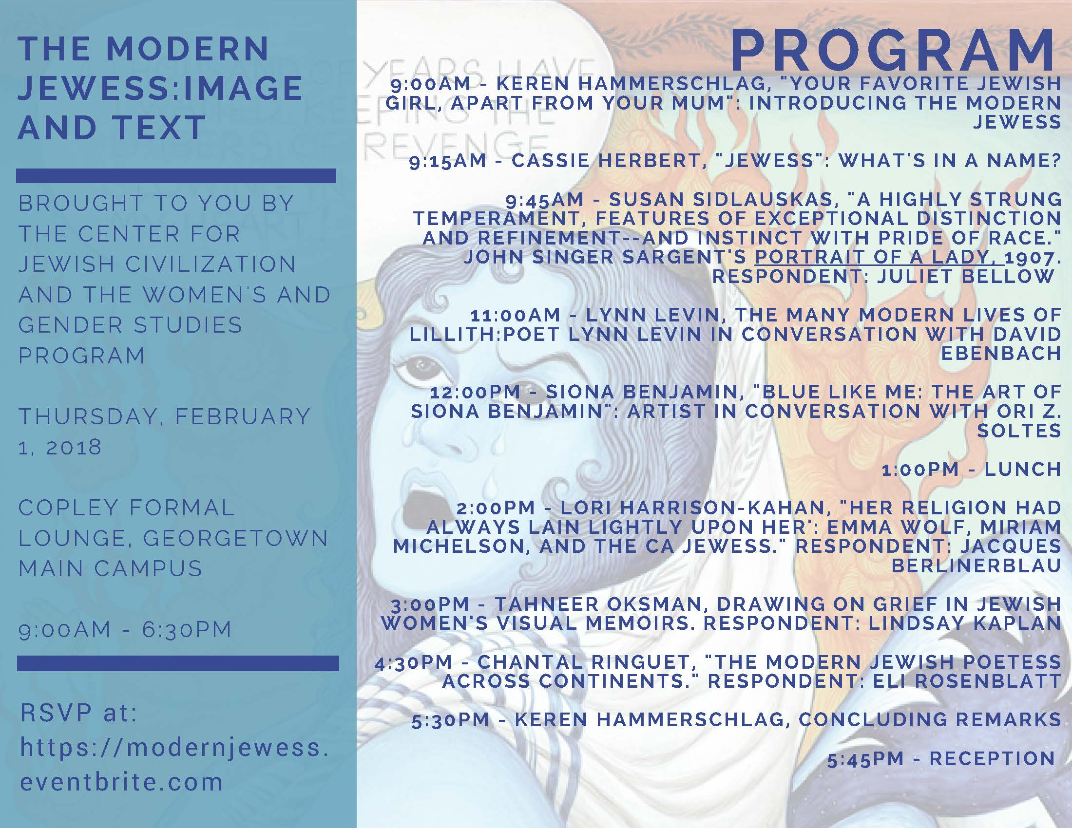 Network: The Modern Jewess: Image and Text Conference (Feb 1)